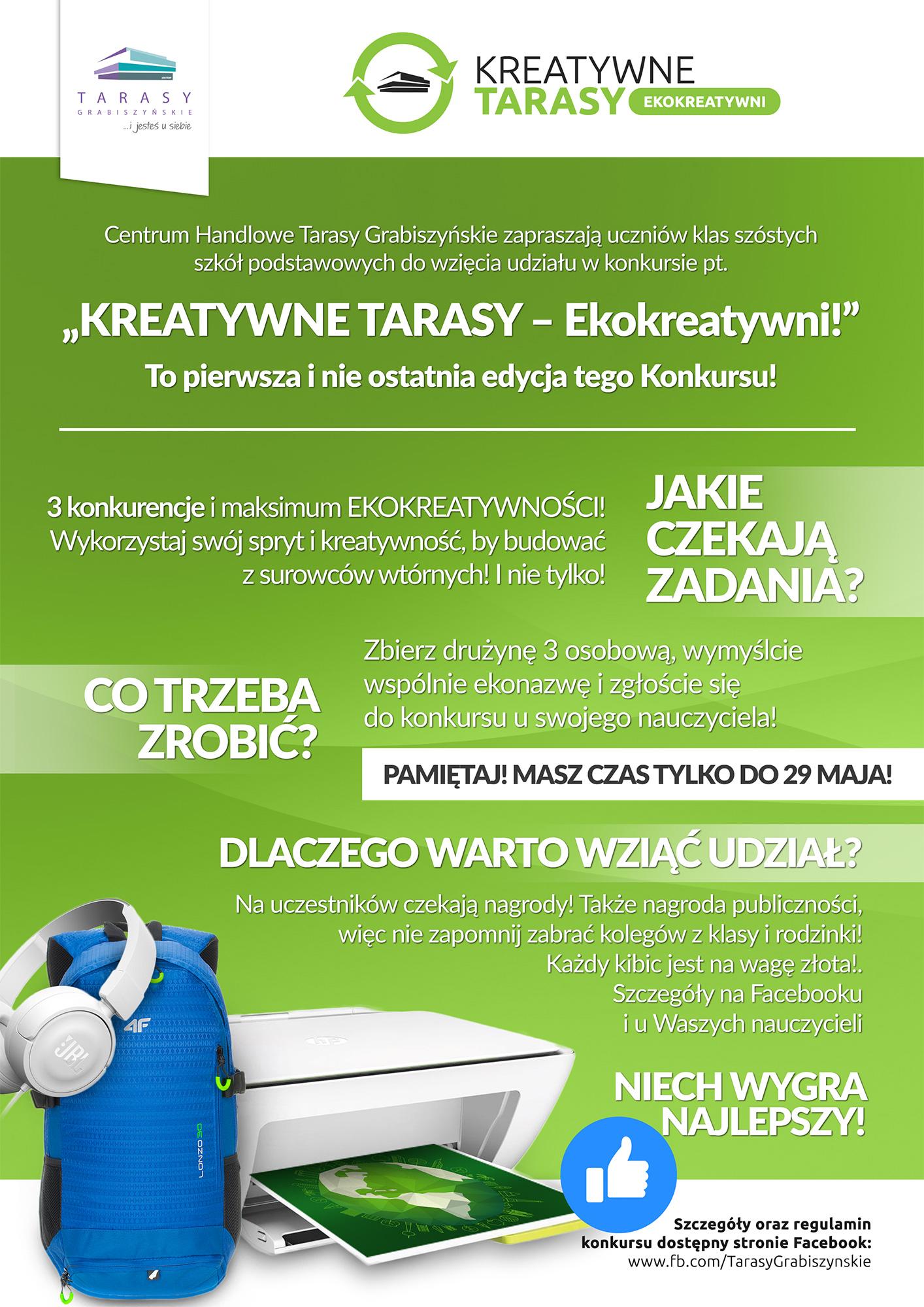 KREATYWNE TARASY – Ekokreatywni! W Tarasach Grabiszyńskich